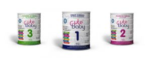 Cute Baby Three Stage Baby Milk Powder Collection by Dana Dairy