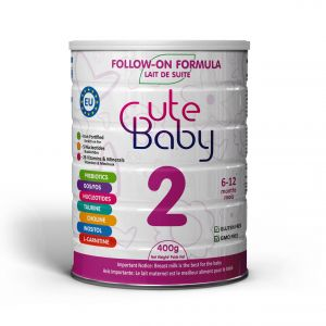 Cute Baby Infant Formula in Tin Stage Two